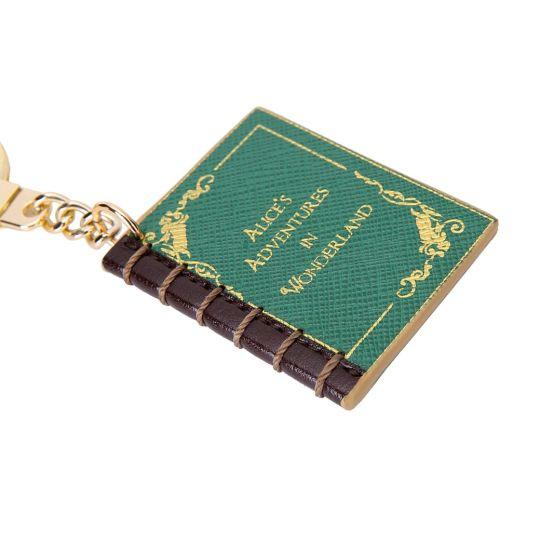 Alice in Wonderland-Buch Schlüsselanhänger