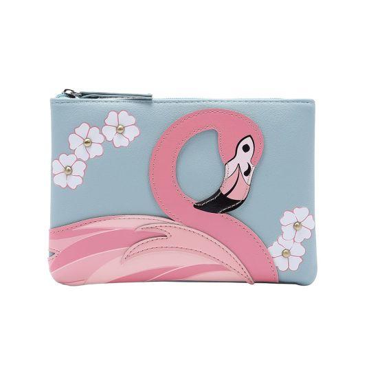 Animal Park Flamingo Zipper Coin Purse