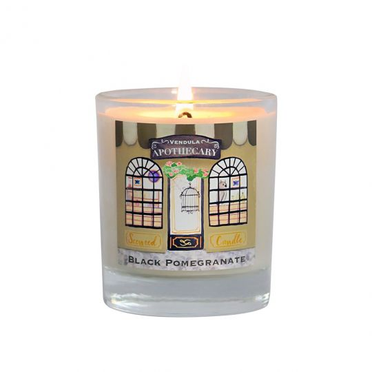 Apothecary Plum, Pomegranate & Rhubarb Scented Candle