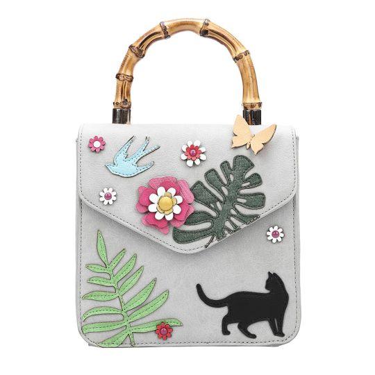 Frida's Garden Bamboo Handles Grab Bag