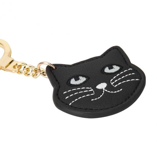 Black Cat-Schlüsselanhänger
