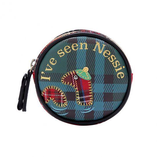 Highland Fling Nessie Round Coin Purse