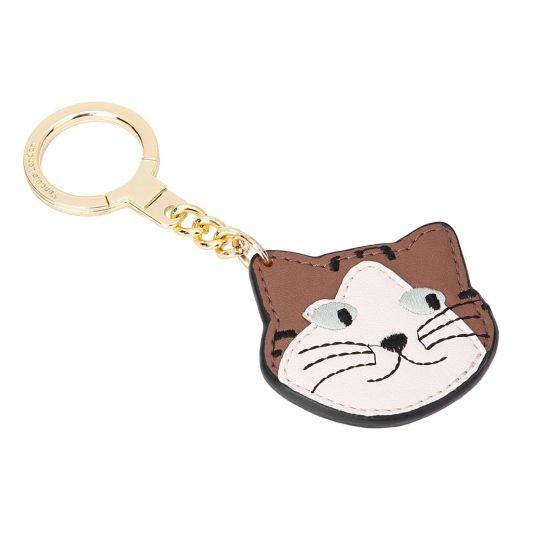 Calico Cat-Schlüsselanhänger