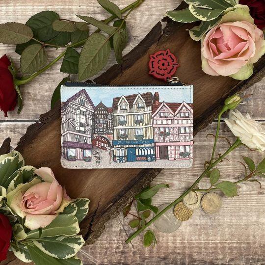 Portamonete e Portacarte Vendula Heritage Tudor Con Zip