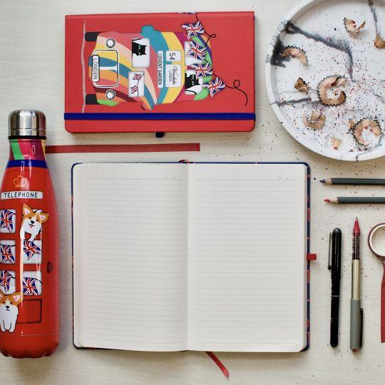 Vendula Jungle Green Notebook