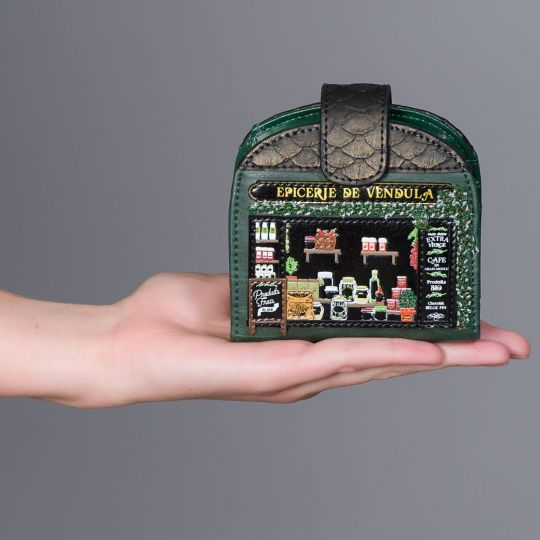 Geldbörse und Kartenhalter Epicerie de Vendula