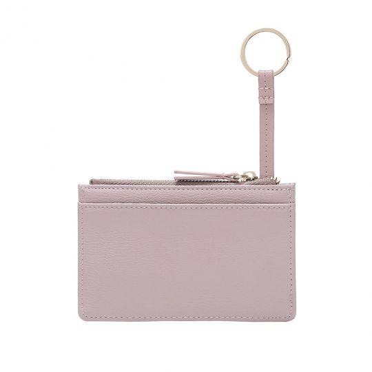 Colour Pop Geldbörse und Kartenhalter mit Reißverschluss – Lila und Blau