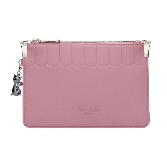 Colour Pop Pouch Clutch-Pink