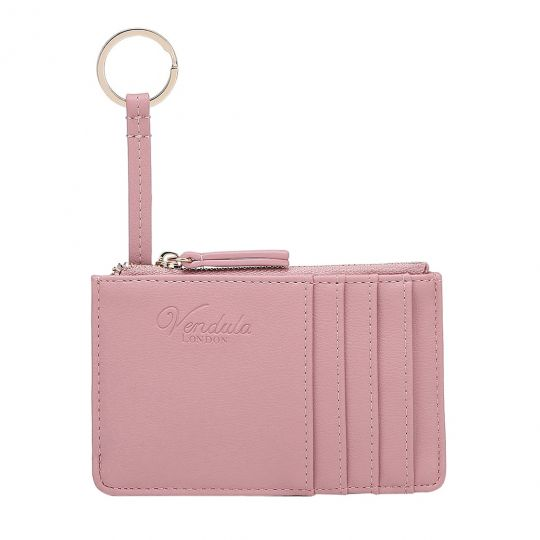 Colour Pop Card and Coin Zipper-Pink