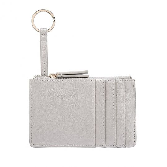 Colour Pop Card and Coin Zipper-Silver