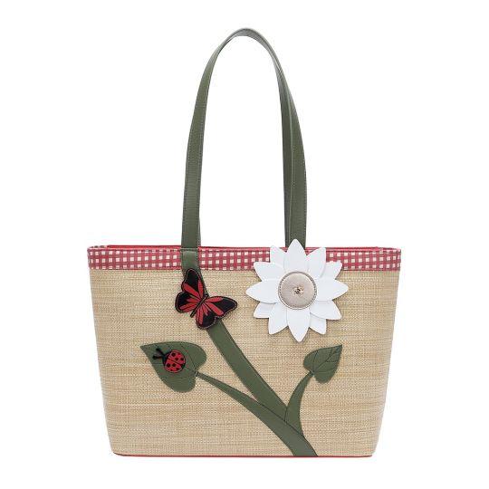 Daisy Garden Large Tote Bag