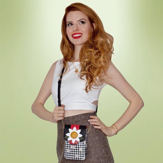 Daisy Garden Phone Pouch