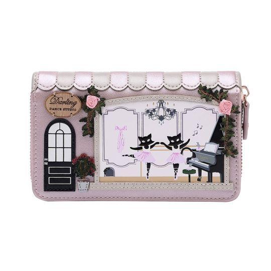 Darling Dance Studio Medium Ziparound Wallet
