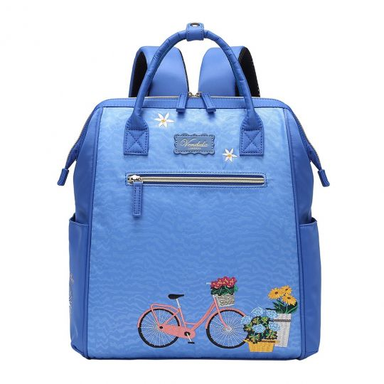 Easy Going Backpack - Blue Bicycle