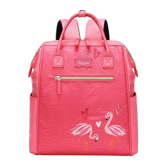 Easy Going Backpack - Coral Flamingo