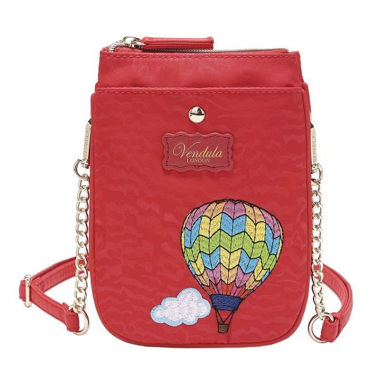 Easy Going Phone Pouch - Red Hot Air Balloon