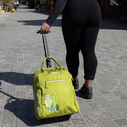 Easy Going Trolley Bag - Green