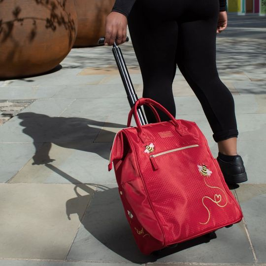 Easy Going Trolley Bag - Red