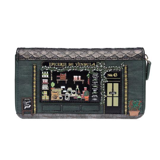 Große Portemonnaie mit Rundum Reißverschluss Epicerie de Vendula