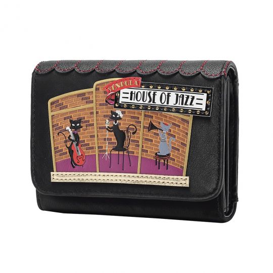 Vendula House of Jazz Small Flap-over Wallet