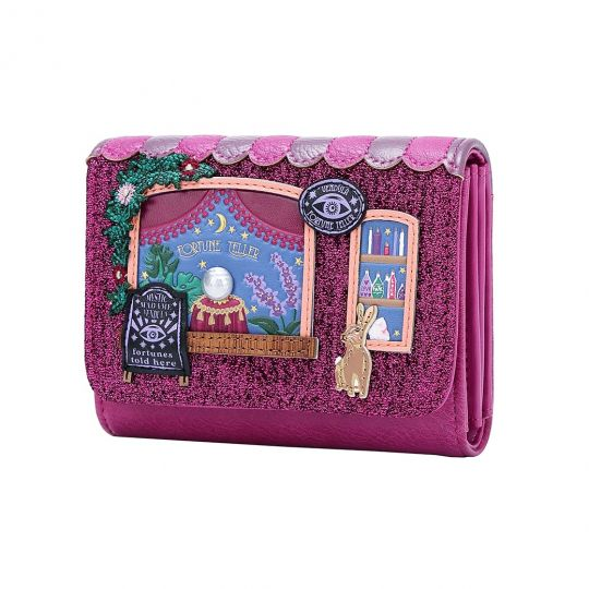 Vendula Fortune Teller Small Flap-over Wallet