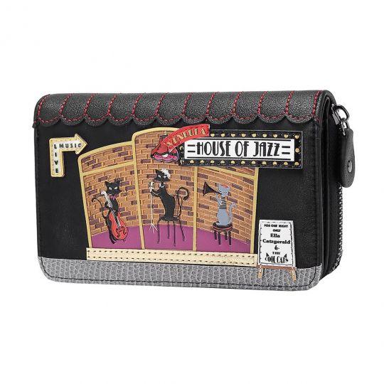 Vendula House of Jazz Medium Ziparound Wallet