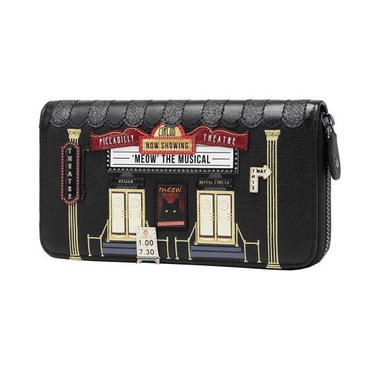 Piccadilly Theatre Large Ziparound Wallet