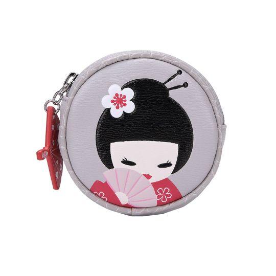 Geisha Round Coin Purse
