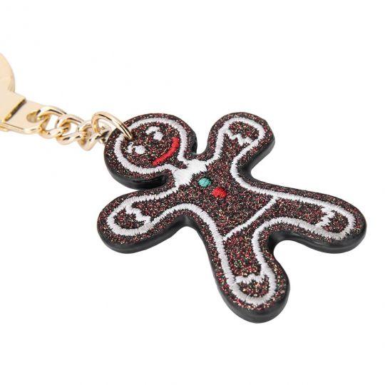 Gingerbread Man-Weihnachts Schlüsselanhänger