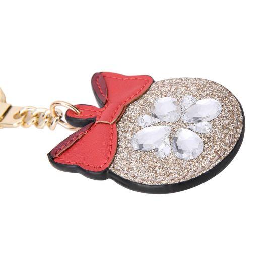 Glitter Bauble-Weihnachts Schlüsselanhänger
