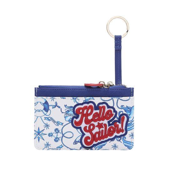 Hello Sailor Zipper Card and Coin Purse