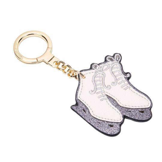 Ice Skate Boot-Weihnachts Schlüsselanhänger