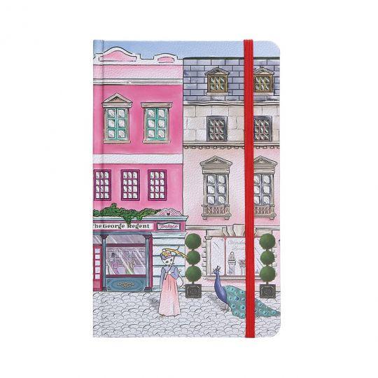 Vendula Heritage Georgian Street A5-Hardcover-Notizbuch