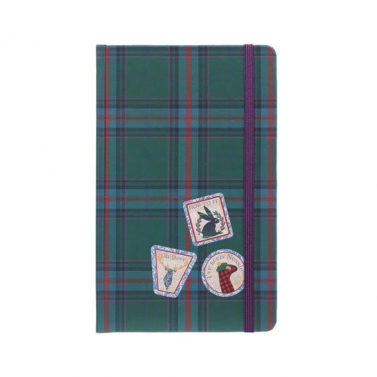 Vendula Highland Fling Tartan A5-Hardcover-Notizbuch