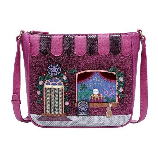 Vendula Fortune Teller Square Crossbody Bag