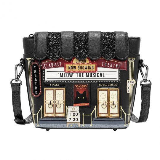 Piccadilly Theatre Crossbody Bag