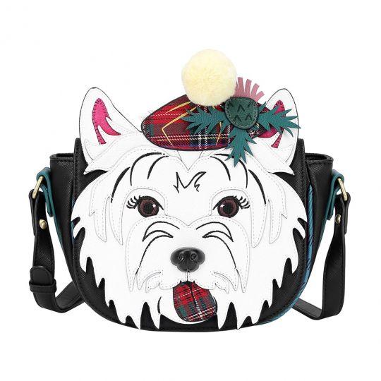 Highland Fling Wallace The Westie Dog Saddle Bag