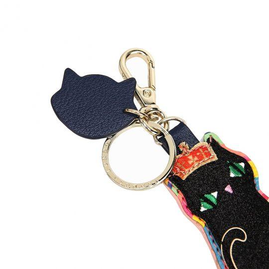 London Cat Schlüsselanhänger