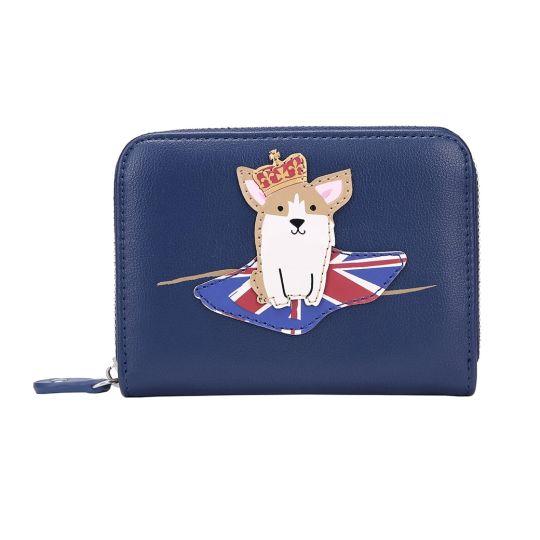 London Corgis Small Ziparound Wallet