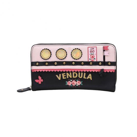 Love-Boat-Geldbörse mit Reißverschluss - Pink