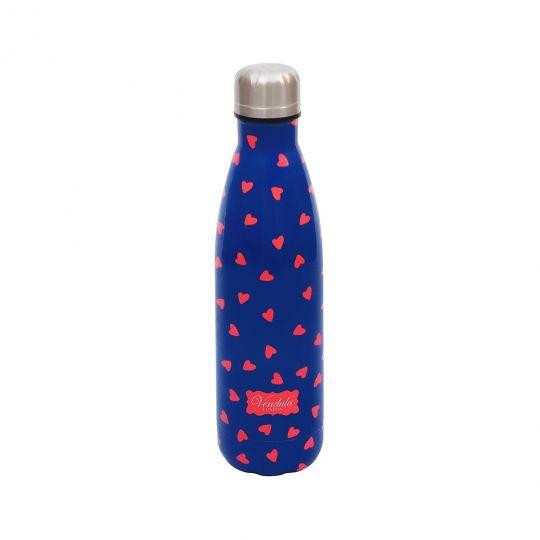 Dunkelblaue Vendula Love Trinkflasche