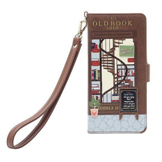 Old Book Shop  - Universal Flip Phone Case