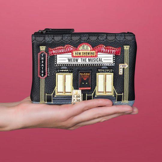 Geldbörse mit Reißverschluss Piccadilly Theatre