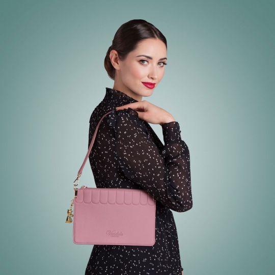 Borsa Pochette Colour Pop-Rosa