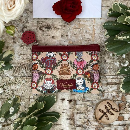 Portamonete Con Zip Vendula Heritage Tudor