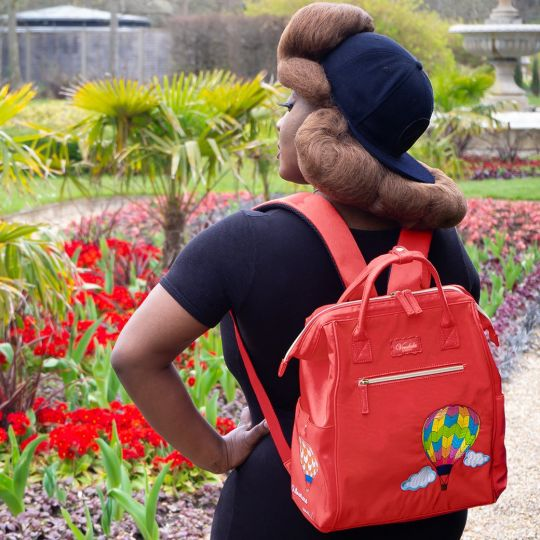 Easy Going Backpack - Red Hot Air Balloon