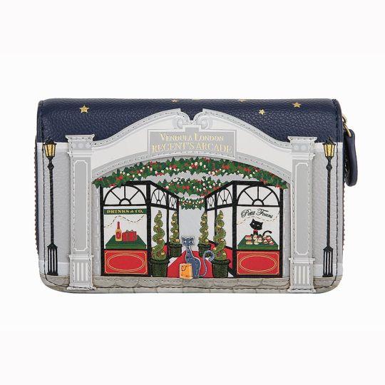 Regent's Arcade Medium Ziparound Wallet