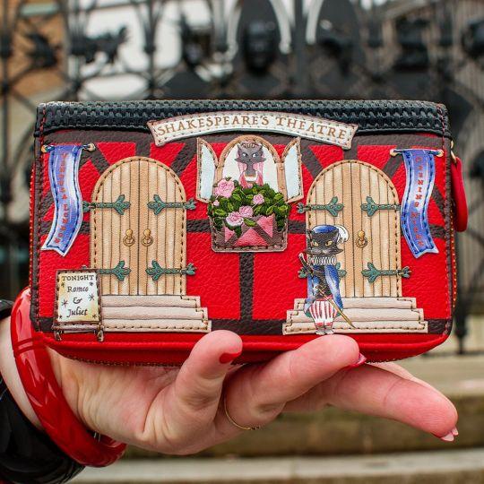 Shakespeare's Theatre - Romeo and Juliet Medium Ziparound Wallet