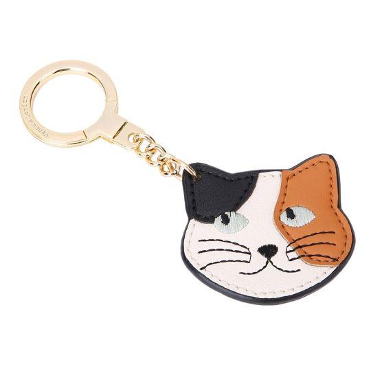 Tabby Patch Cat-Schlüsselanhänger