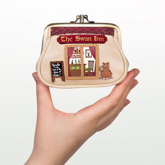 Geldbörse Clip-Rahmen The Swan Inn Pub
